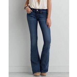 American Eagle Boho Artist Jeans